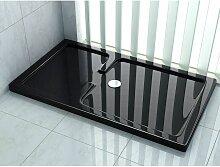 Duschtasse für OPEN 150 x 90 cm (schwarz) -