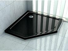 Duschtasse für PENTAGONO 100 x 100 cm (schwarz)