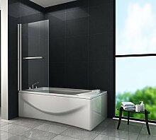 Duschtrennwand QUODO 80 x 140 (Badewanne)