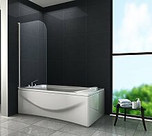 Duschtrennwand RONO 80 x 140 (Badewanne)