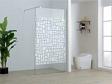 Duschtrennwand Seitenwand italienische Dusche