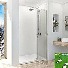 Duschtür 80x190cm Duschkabine Nischentür