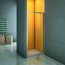Duschtür Duschabtrennung 100cm Nischentür