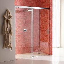 Duschtür Für Nische 120 Cm Aus Transparentem