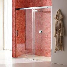 Duschtür Für Nische 120 Cm Mit Festem Element