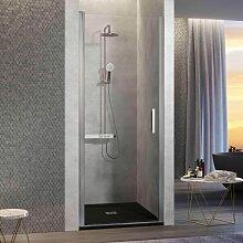 Duschtür für Nischen NARDI - 55-59 cm Glas 6mm