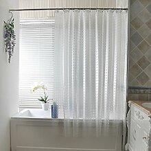 @Duschvorhänge Duschvorhang, Wasserdicht Dicker