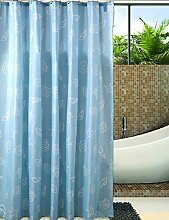 Duschvorhänge Yulian / einfache moderne wasserdichte Vorhang / Verdickung der Form Vorhang / Sanitär Isolierung Vorhang duschvorhang stoff ( größe : 180*180CM )