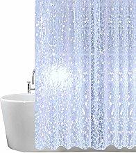 Duschvorhang Antischimmel Transparent