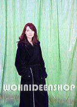 Duschvorhang Bambus 240cm breit x 180cm lang Vinyl