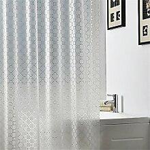 Duschvorhang durchsichtig Duschvorhang Bad