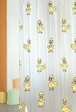 Duschvorhang Enten Entchen 120cm breit x 200cm