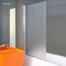 Duschwand, 1400 x 800 mm, 6mm Sicherheitsglas Glas