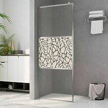 Duschwand für Begehbare Dusche ESG-Glas
