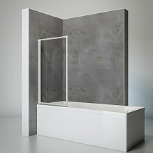Duschwand Smart inkl. Klebe-Montage, 70 x 121 cm,