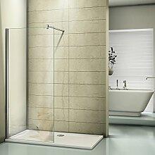 Duschwand Walk in Dusche 96x185cm Duschtrennwand