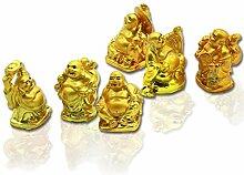 Dusky Seaside Sparrow Lachender Buddha Figuren