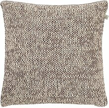Dutch Decor Kissen Emma 45x45 cm Taupe