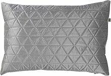 Dutch Decor sprexa Kissen, Polyester,,, Polyester, hellgrau, 40 x 60 x 15 cm