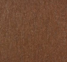 Dutch Wallcoverings 42107–20Uni Tapete–Rot/Braun