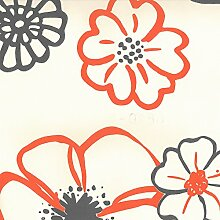 Dutch Wallcoverings 6829–6Happy Tapete–Beige/Orange