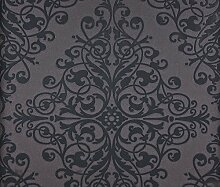 Dutch Wallcoverings 6835–7 Ornament Tapete, Schwarz