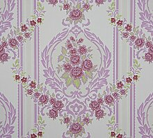 Dutch Wallcoverings 6850–6 Ornament Tapete – Pink