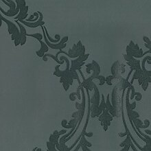 Dutch Wallcoverings 7203–7Damast Tapete, Schwarz