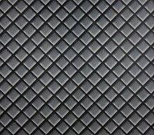Dutch Wallcoverings 7269–7Leder Tapete, Schwarz