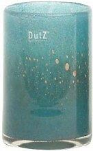 Dutz Collection | Cylinder Deko Vase Blau Petrol