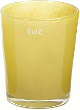 Dutz Übertopf Conic VASE, Mustard H17 D15
