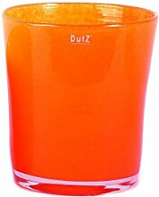 DutZ Übertopf CONIC VASE, soft orange (H14 D12)
