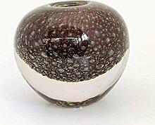 DutZ Vase BALL, cassis bubbles H13,5 Ø13,5