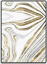 DUXX Golden Abstract Linie Stein Muster