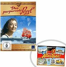 DVD Das purpurrote Segel | GRATIS DDR Geschenkkarte | DDR Produkte | Geschenkidee für alle Ostalgiker aus Ostdeutschland | Ossi Produkte