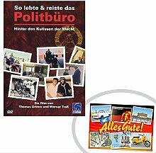 DVD So lebte + reiste das Politbüro ++ DAS Ostprodukte Geschenk – DDR Traditionsprodukt und Ossi Kultprodukt – Geschenkidee für alle Ostalgiker aus Ostdeutschland vom Ostprodukte Experten – Ostpaket mit DDR Klassiker – Ideal für jedes DDR Geschenkset ++ GRATIS: Zu jeder Lieferung erhalten Sie immer genau die hier angezeigte DDR Geschenkkarte (copyright Ostprodukte-Versand) !! ++