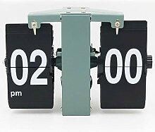 DW HCKK M&T Automatische Uhr Retro Flip Wanduhren