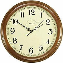 DW HCKK M&T Uhr in Massivholz, Wanduhr einfach