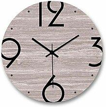 DW HCKK M&T Uhr Wand Lounge Moderne Stumm aus Holz