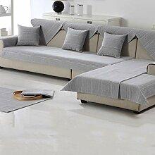 DW&HX American Style Baumwolle und leinen Sofa