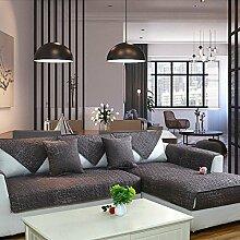 DW&HX Anti-rutsch sofabezug,100% Baumwolle Sofa