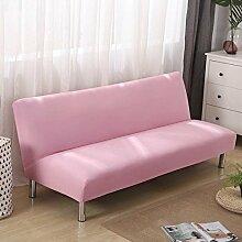 DW&HX Armless Sofabezug,Falten Sofa Bett