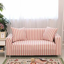 DW&HX Elastische gestreiften sofabezug,1-teilige