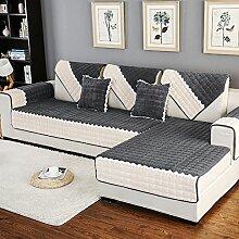 DW&HX Gesteppter Sofabezug Möbel-Protector für