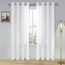 DWCN Gardinen für Wohnzimmer Schlafzimmer –