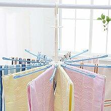 Dwthh 2 Kinder Kleiderbügel Rotierenden Winddicht