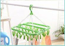 Dwthh 2 Plastik Kleiderbügel Baby Kleiderhaken