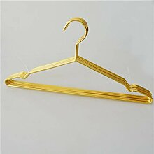 Dwthh 42 cm Gold Starke Metalldraht Kleiderbügel