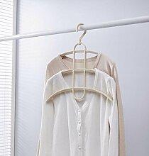 Dwthh 5 Multifunktionale Kleiderbügel, Dreilagige