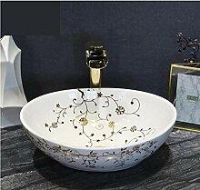 dwthh Jingdezhen keramik tisch kunst waschbecken